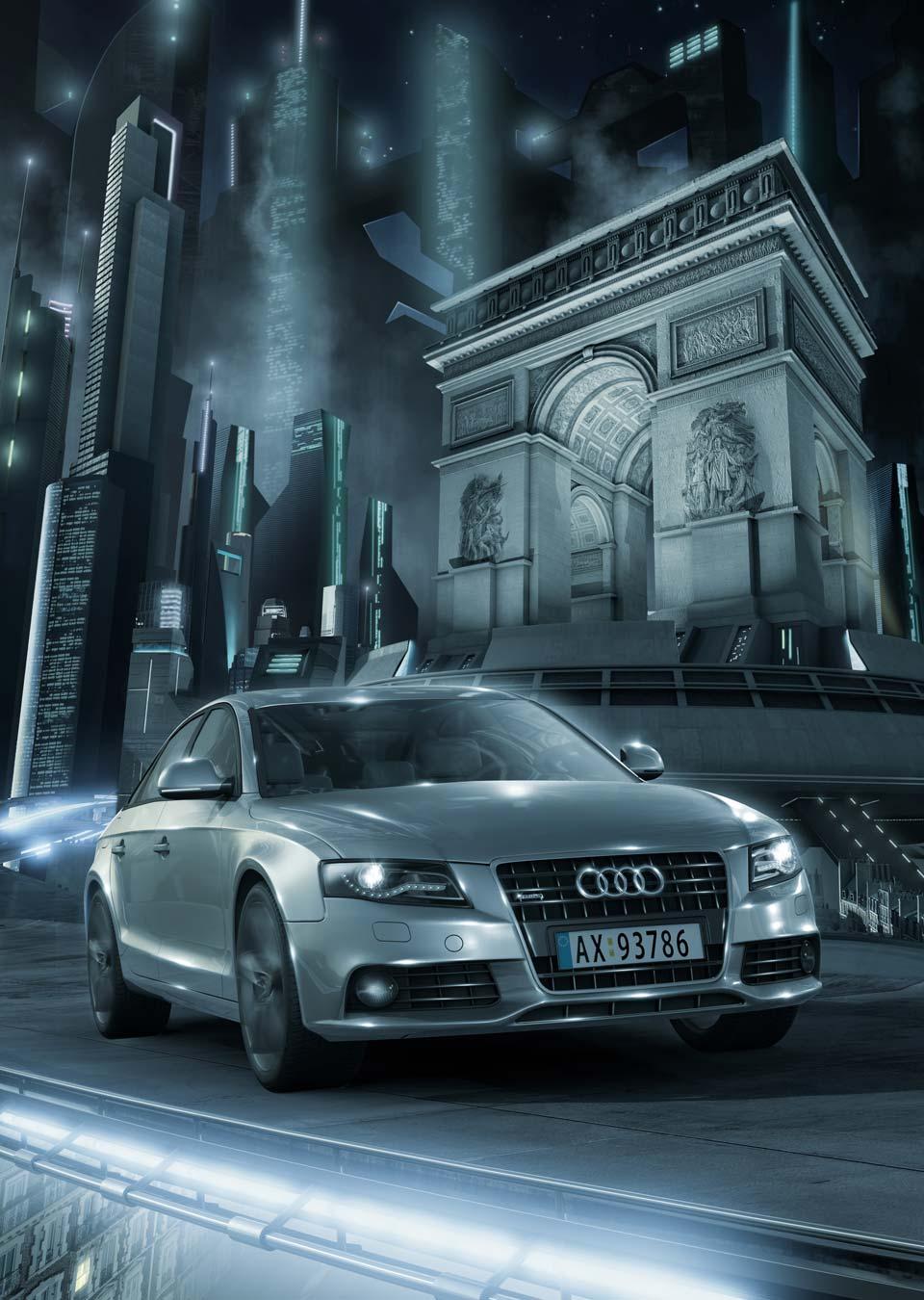 AUDI LeFrenchBulldog Animation Studio - Audi car commercial